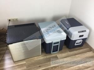 Absorber, Kompressor und Thermoelektrisch im Vergleich